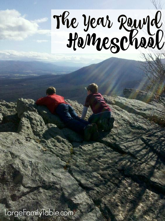 The Year Round Homeschool