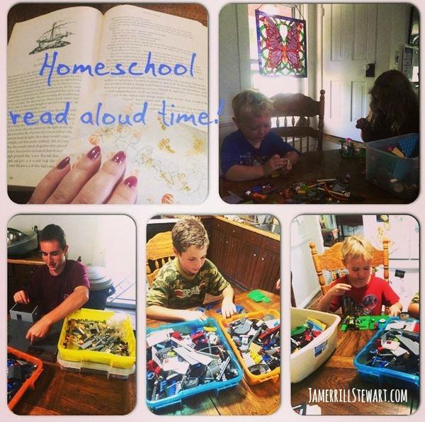 Homeschool Read Aloud Time