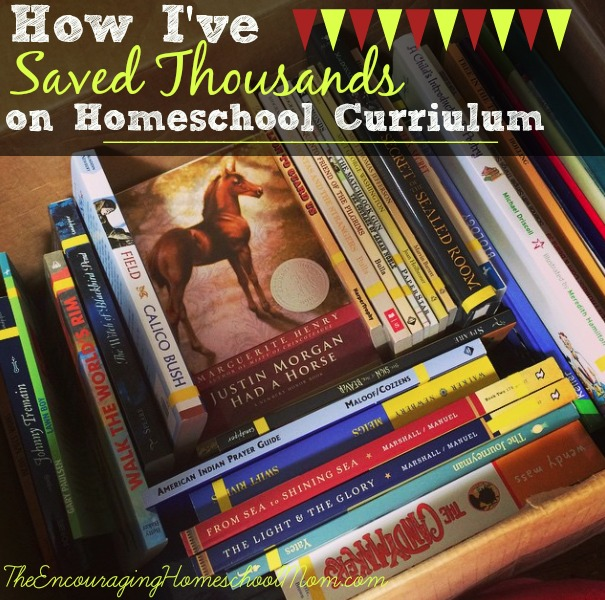 How I've Saved Thousands on Homeschool Curriculum