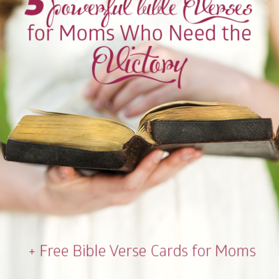 Free Bible Verse Cards for Moms