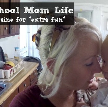 """Homeschool Mom Life - with a migraine for """"extra fun"""""""