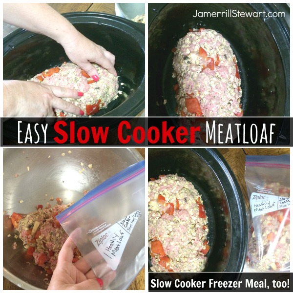 Slow Cooker Meatloaf Recipe