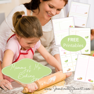 "FREE ""Mommy and Me"" Baking Printables!"