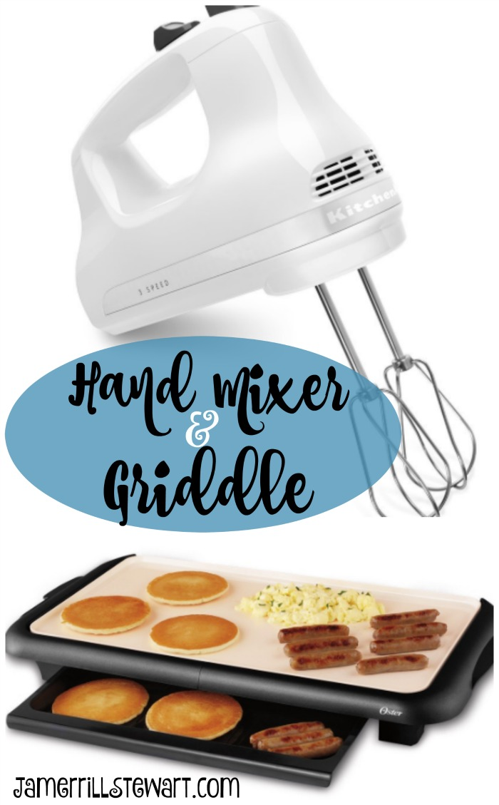 My New Electric Hand Mixer and Griddle Purchase -- come share your ...