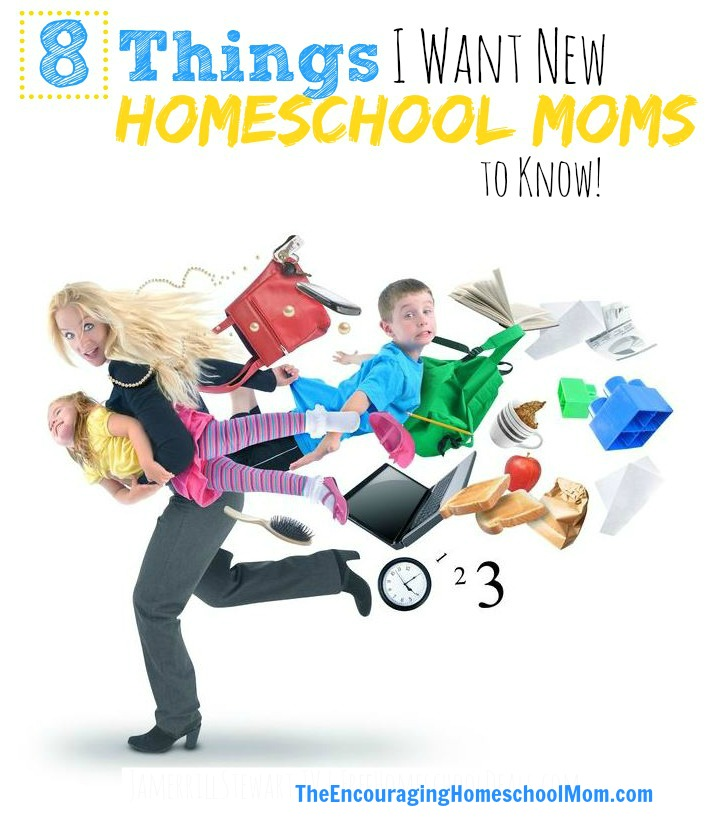 8 Things I Want New Homeschooling Moms to Know 1