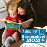 A Week in My Life as a Homeschool Mom January 2016
