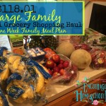 $118.01 Large Family Aldi Grocery Haul + Meal Plan for the Week