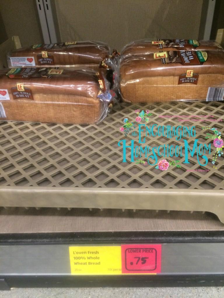 Aldi 75 bread