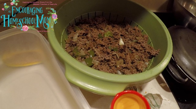 Egg Roll in a Bowl Ground Beef