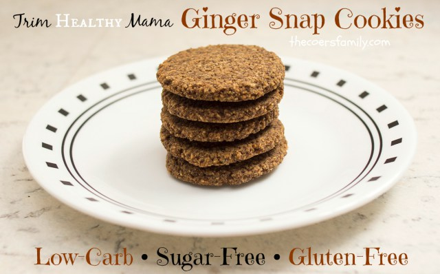 Ginger Snap Cookies THM FP
