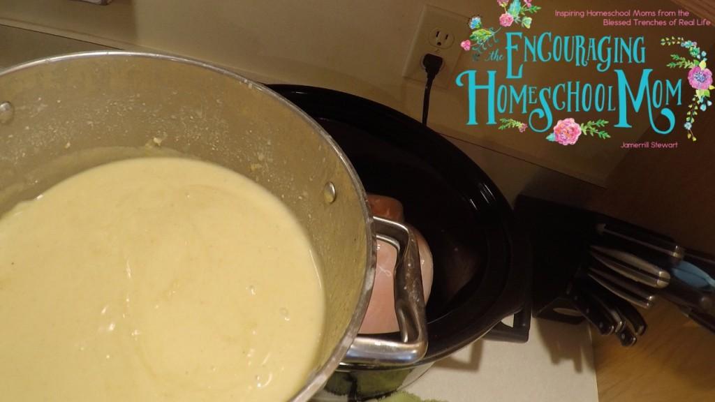 Homemade Cream of Chicken