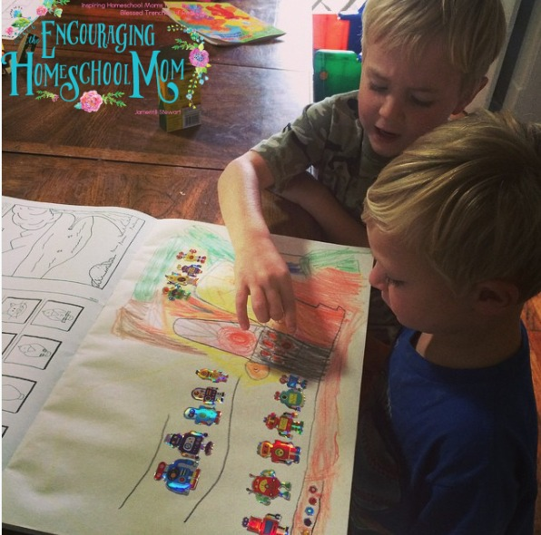 Homeschool Preschool Days