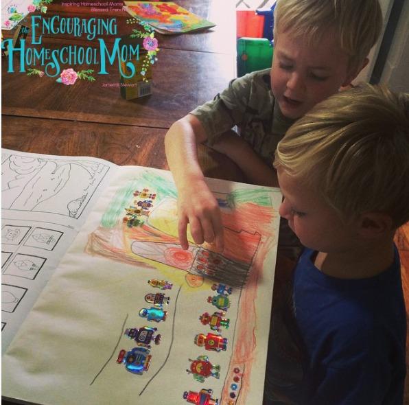 Homeschool Preschool Days