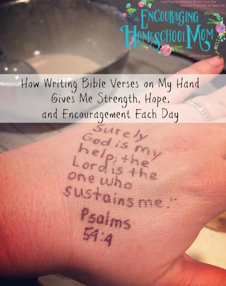Bible Quotes About Hope Awesome How Writing Bible Verses On My Hand Gives Me Strength Hope And