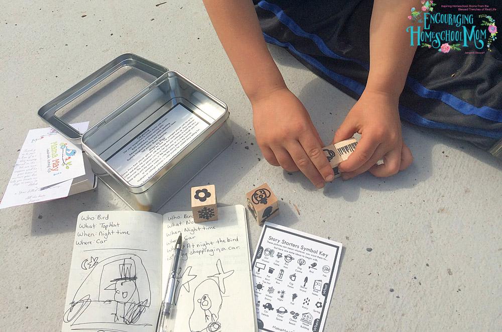 Joyfully Developing Story Telling Skills in the Homeschool