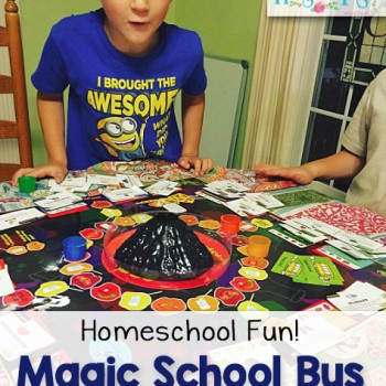 Magic School Bus Science EXPLOSION Game! Great for Family Game Night, Too!