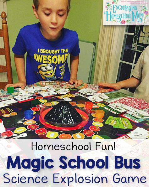 EHSM Magic School Bus Science Explosion Game 2