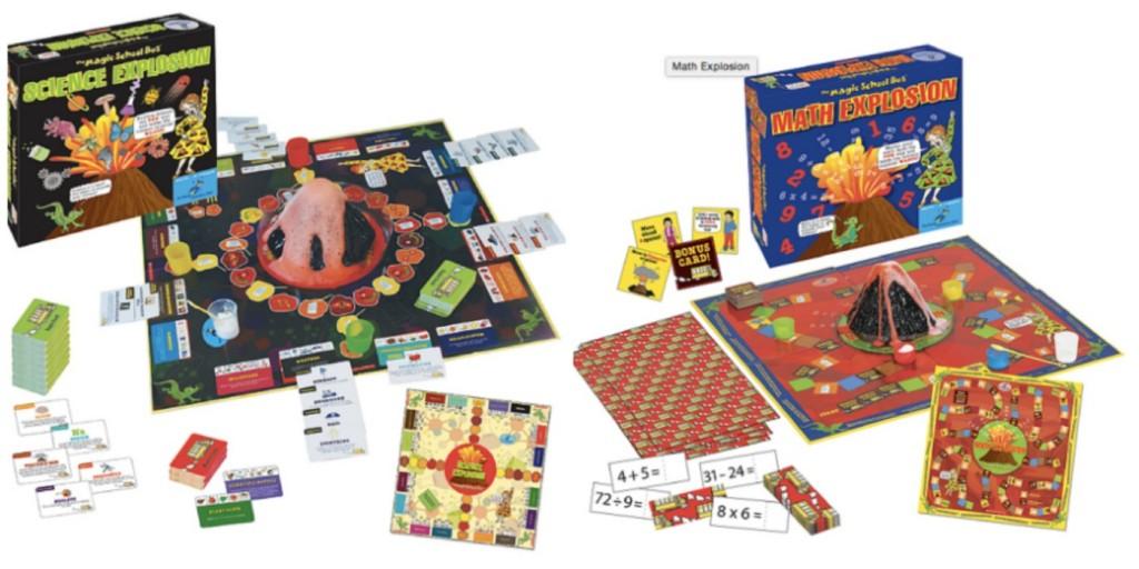 Educents Magic School Bus Games Bundel