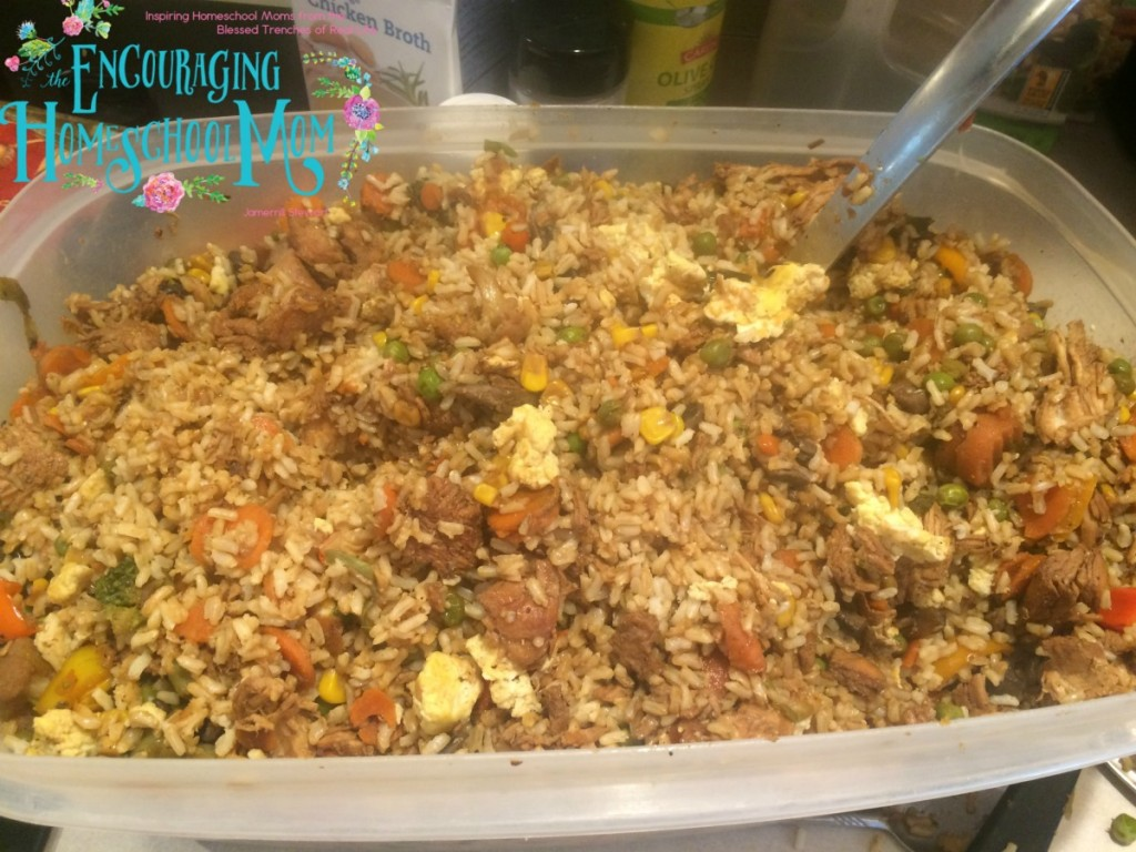 Jamerrills Chicken Fried Rice