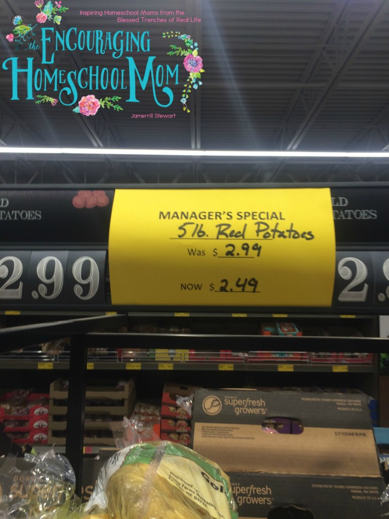Red Potatoes Deal