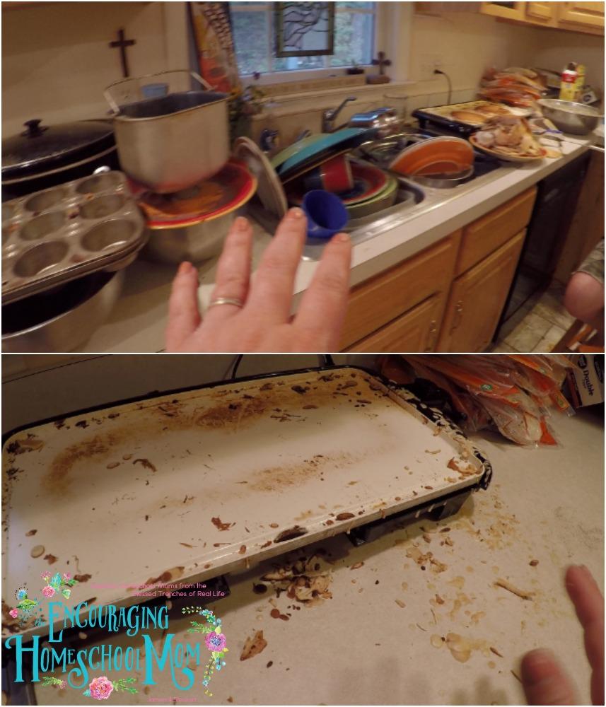 Freezer Cooking Clean Up