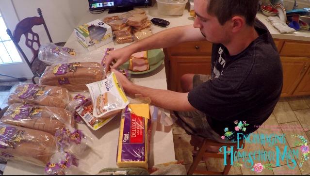 Freezer Sandwiches