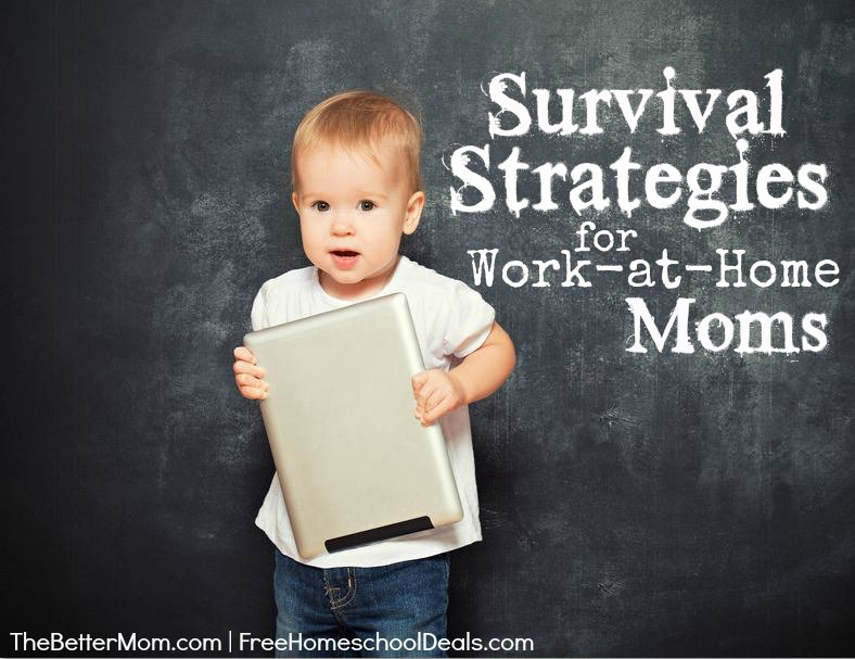 Survival Strategies For Work-At-Home Moms