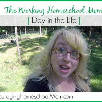 The Working Homeschool Mom Day in the Life! Enjoy the Family Day and Work with Me During the Evening :)