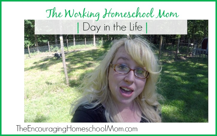 The Working Homeschool Mom Day in the Life
