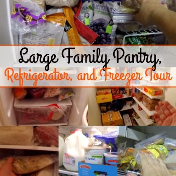 Jamerrill's Large Family Pantry, Refrigerator, and Freezer Tour