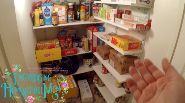 large family pantry tour