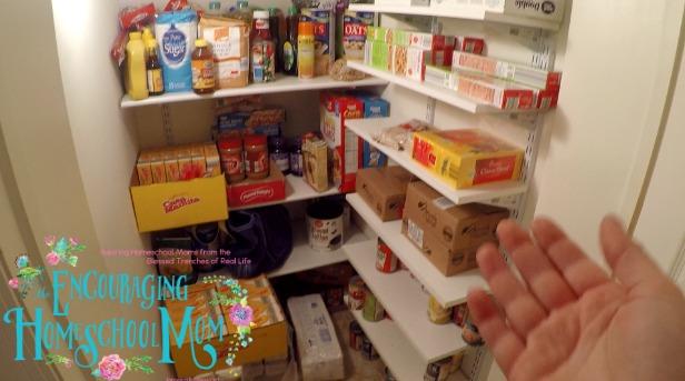 large family pantry tour