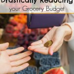 How to get out of debt by Drastically Reducing your Grocery Budget
