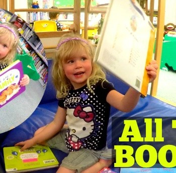 Family VLOG: She Wants ALL THE BOOKS!