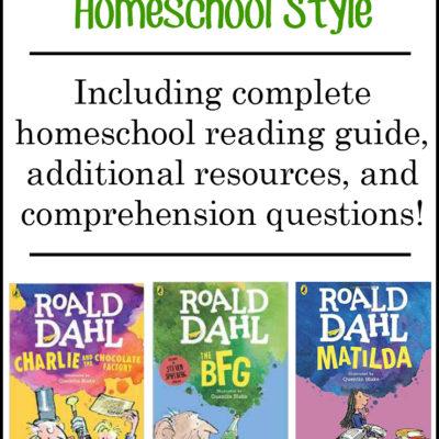 Roald Dahl Homeschool Resources