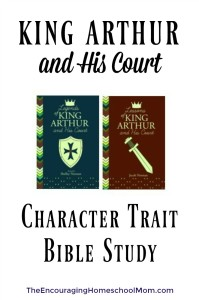 King Arthur Character Trait Bible Study