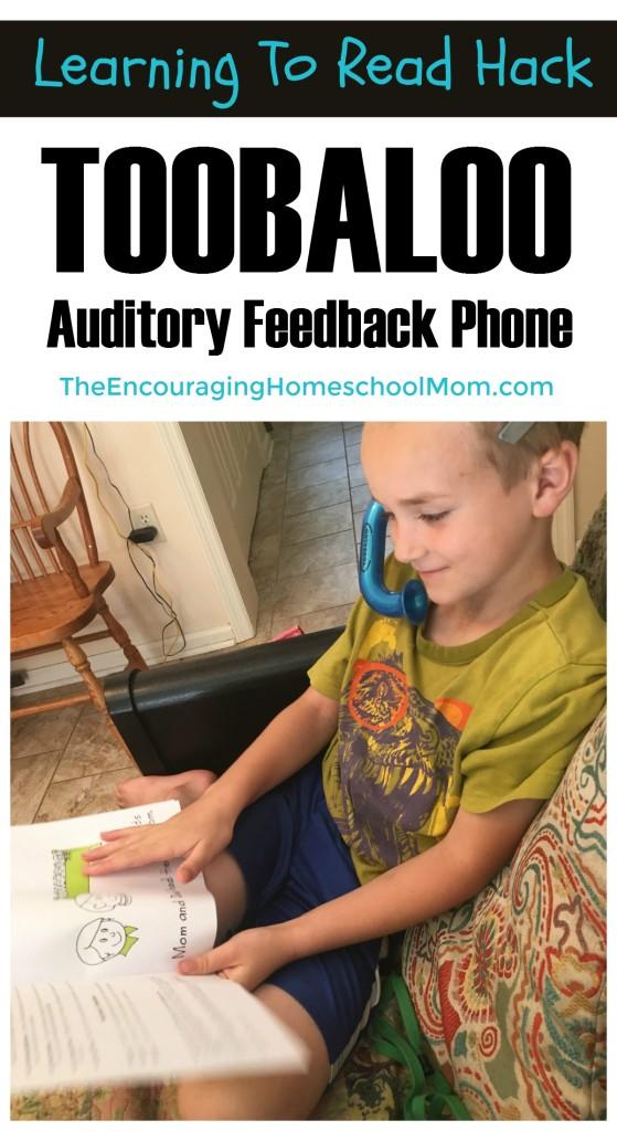 Toobaloo Auditory Feedback Phone