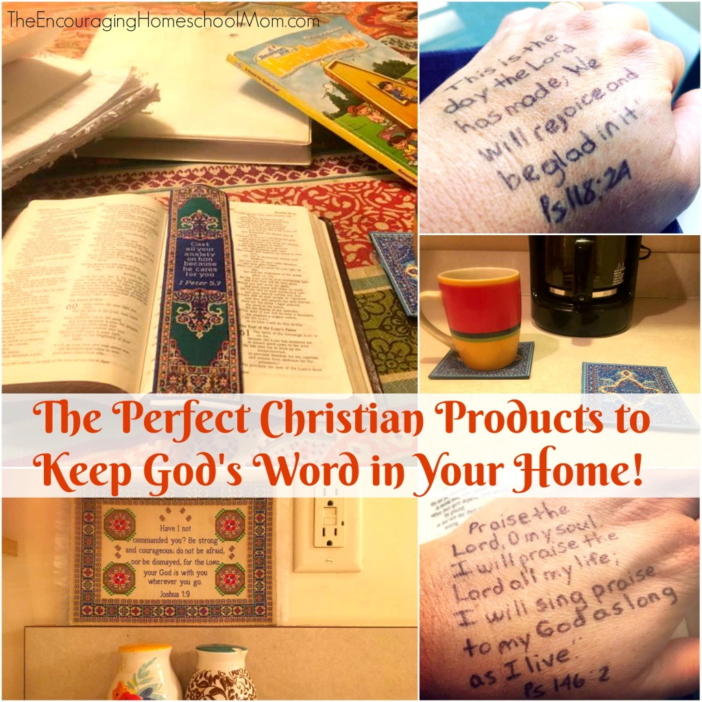 The Perfect Christian Products to Keep God's Word in Your Home!