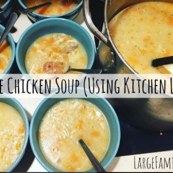 Homemade Chicken Soup Recipe (using kitchen leftovers!)