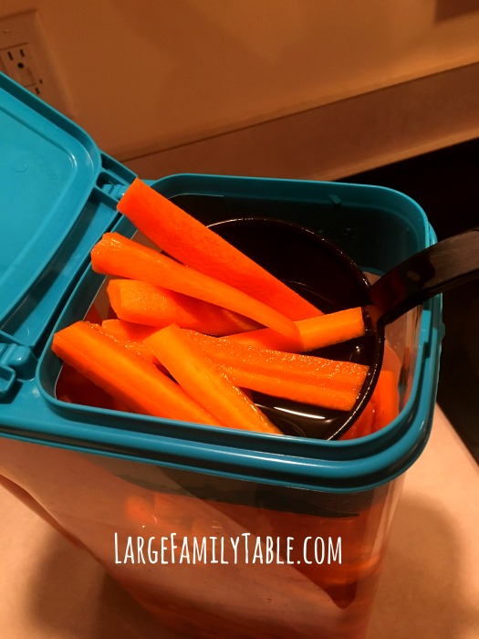 Large Family Carrot Sticks