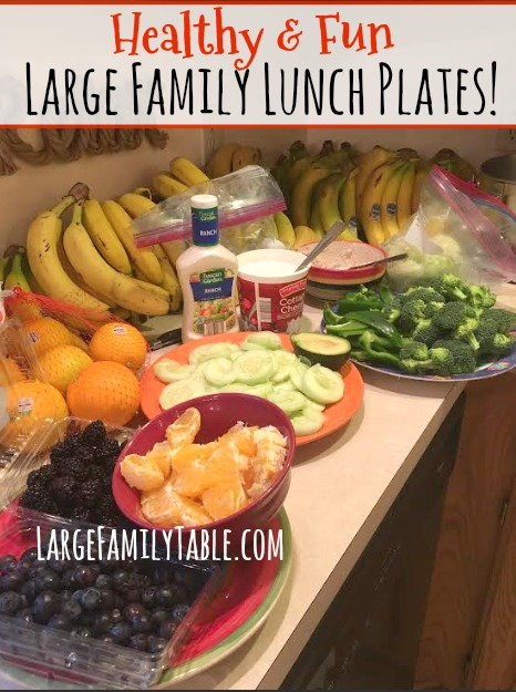 Large Family Lunch Ideas