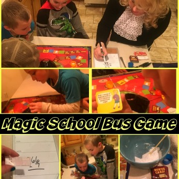 The Super Fun Magic School Bus Math Explosion Game!