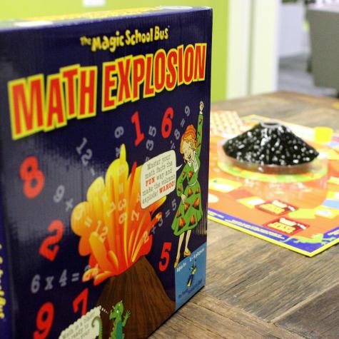 Magic School Bus Math Explosion