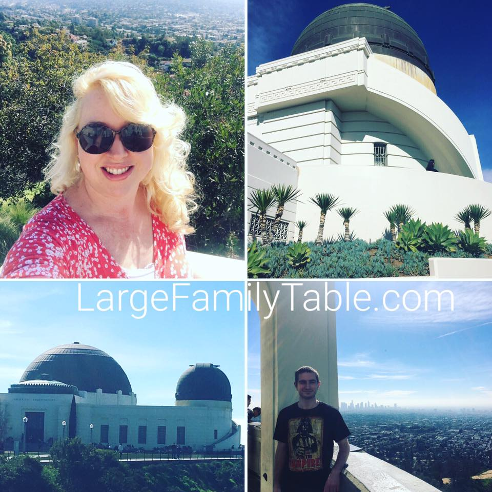California Trip Griffith Observatory
