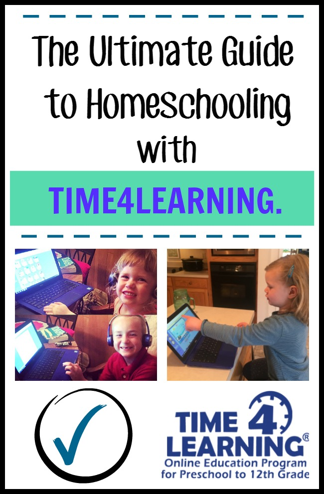 Homeschooling with Time4Learning