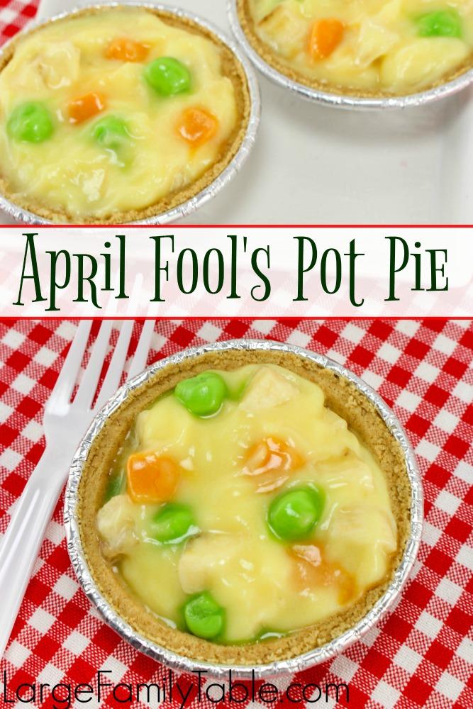 April Fools Recipes Pot Pie
