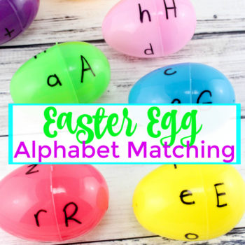 Easter Egg Alphabet Matching Game