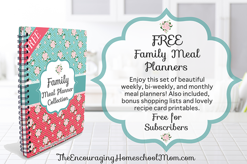 Family Meal Planner Collection | Weekly, Bi-Weekly, & Monthly Meal Planners + More!