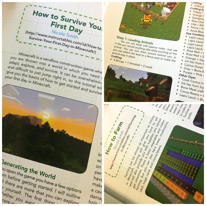 Minecraft Homeschool Book