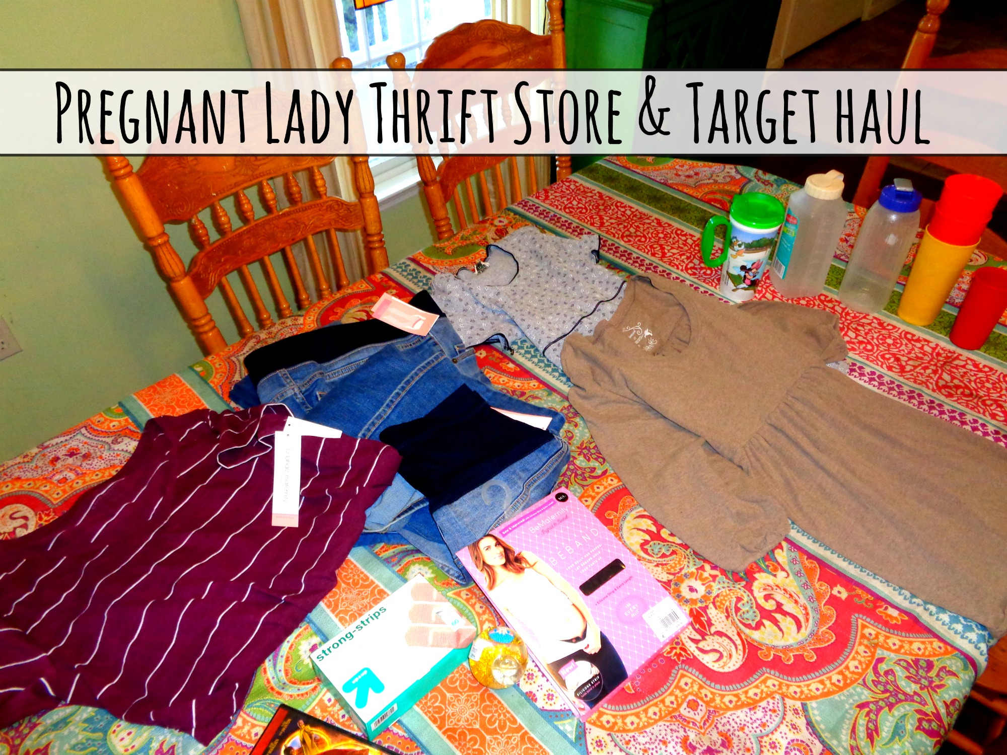 Pregnant Lady Thrift Store & Target Haul
